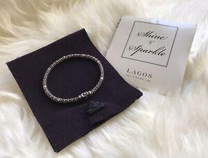 Lagos Signature Caviar Bracelet Sterling Silver $195 (retail $295)
