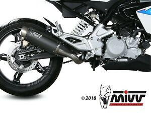 BMW G 310 GS 2017>2021 MIVV GP-PRO BLACK EDITION FULL EXHAUST *IN STOCK*