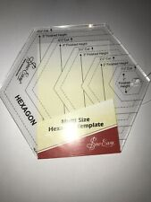 SEW EASY HEXAGON TEMPLATE  MULTI SIZE - NL4170