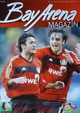 Programm Pokal 2002/03 Bayer 04 Leverkusen - Waldhof Mannheim