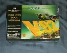 NEW SEALED 2002 BROADXENT V.92 PCI Fax Modem w/ Voice (DI 3631) from CREATIVE