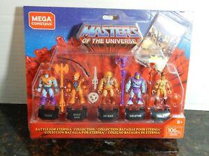 Mega Construx Masters of the Universe Battle for Ertinia figure set MIP