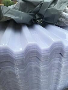 """Plastic roof sheets box profile 7m & 6m"""