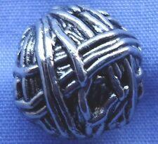 15mm Silver Domed Shank Button (x 2 buttons)