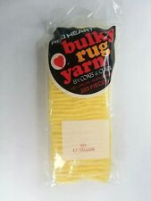 Red Heart Latch Hook Bulky Rug Yarn - 621 Light yellow - 320 Pieces