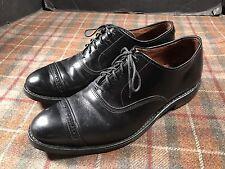 Allen Edmonds Fifth Avenue W/ Dainite Rubber Sole England Mens 9 E Used Black