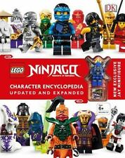LEGO NINJAGO CHARACTER ENCYCLOPEDIA - SIPI, CLAIRE - NEW HARDCOVER BOOK