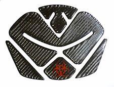 Biohazard logo wet dry Carbon Fiber Tank Protector Pad sticker fit Ducati Diavel