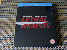 Blu Steel 4 U: Lethal Weapon : Limited Edition Steelbook Sealed Glover, Gibson
