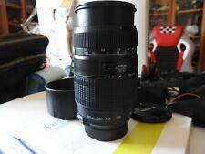 Obiettivo TAMRON SP Macro zoom 70-300/4-5,6 DI LD per Reflex Digitali  NIKON