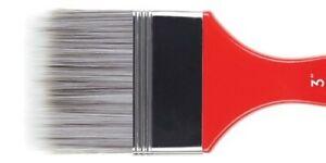 "Princeton Redline 6700 Artist Paint Brush Flat Size 2"""