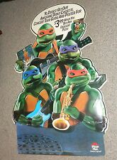 Teenage Mutant Ninja Turtles Coming Out Of Their Shells Pizza Hut Display 1990
