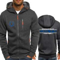 Indianapolis Colts Football Hoodie Men's Sweatshirt Rugby Jacket Casual Coat
