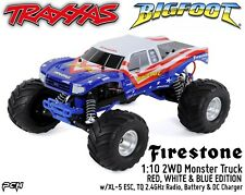 TRAXXAS 1:10 BIGFOOT SUMMIT 2WD Monster Truck RTR (RED, WHITE & BLUE) TRA360841