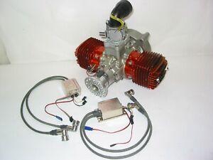 18 HP 3W MOTOR ! NICE MODEL 210XI B2 TS CS ENGINE ! COX ENYA SAITO NGH BZM OS KB