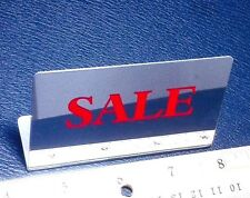 SHELF/DISPLAY CASE MIRRORED SALE SIGN FOR RETAIL/JEWELRY STORES/BAKERY/PAWN SHOP