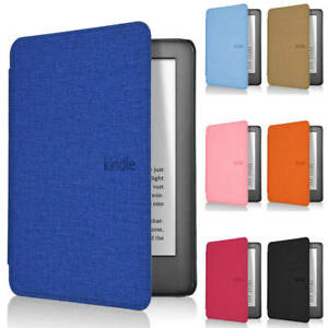 "For 6""Amazon Kindle Paperwhite 4 10th Gen 2018 e-Reader Leather Smart Case Cover"