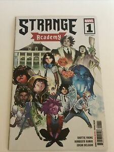 Strange Academy #1 First Print Humberto Ramos Cover NM (Many 1st Appearances)