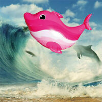 RC Infrared Air Flying Swimming Dolphin Kids Baby Remote Controlled Toy Red