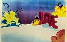 BEATLES YELLOW SUBMARINE BACKGROUND-CEL-DISPLAY-HOBBY-REPRINT-CELL SUB    B6