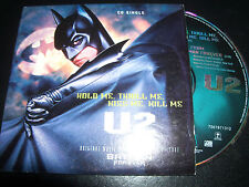 U2 Hold Me Thrill Me Kiss Me Rare Australian Card Sleeve CD Single