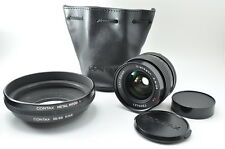 Contax Carl Zeiss Distagon T* 28mm f/2.8 MMJ Lens w/Hood 1 & Ring 55/86  & Case