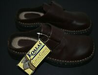 Koalas by Maine Woods Slip-On Slides Mules Brown  Shoes Womens Sz 6M