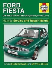 Fiesta Workshop Manuals Haynes Car Service & Repair Manuals