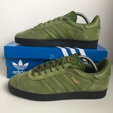 Adidas Gazelle Ardwick Colourway Green Suede Size 8 Trainers With OG Box