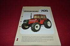 Volvo BM Valmet 705 Tractor Dealer's Brochure DCPA6