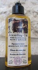 Authentic Blessed Anointing Oil with Frankincense, Myrrh and Spikenard 120ml