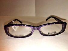 New 100% Authentic Essence Eyeglasses Halle Purple Marble 54-16-135 tag $82