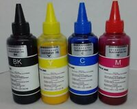 4x100ml  sublimation  Ink 400 ML for EPSON Workforce WF-3620 3640 7610 7620 7110