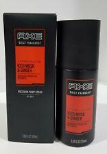 AXE SIGNATURE DAILY FRAGRANCE ICED MUSK & GINGER PUMP SPRAY 100ml 3.38FLoz