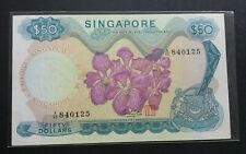 SINGAPORE ORCHID SERIES $50 A/60 840125 GEF