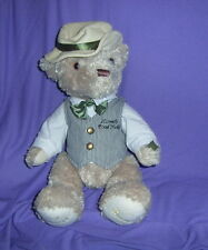 """LARGE """"HARRODS """" 'THE ANNUAL BEAR"""" 2009, WITH BUTTON/RIBBON"""