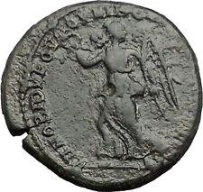 ELAGABALUS 218AD Nicopolis ad Istrum NIKE Victory Ancient Roman Coin i54774