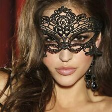 SEXY MASCHERA MASCHERINA DONNA/uomo PIZZO  SERATA HOT sexy party cam girl mask