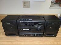 Sony CFS-1035 Radio Cassette-Corder