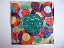 "The John Barry Seven 7 Walk Don't Run UK 1960 Columbia 7"" Vinyl Single"