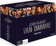 Jean-claude Van Damme Mega Pack 17 DVD Set Like Region 4