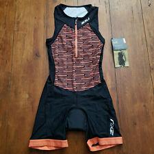 New listing 2XU Women's Small Trisuit Orange Sleeveless One-Piece Triathlon Active Suit S