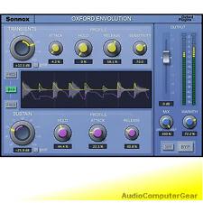 Sonnox OXFORD ENVOLUTION NATIVE Plug-in transient designer audio software NEW