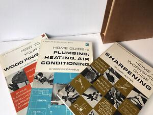VTG Popular Science Home & Workshop Guides Boxed Set 3 Books 1967