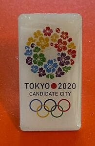 TOKYO 2020 OLYMPIC GAMES - OLYMPIC CANDIDATE CITY BID PIN