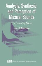 Analysis, Synthesis, and Perception of Musical Sounds: The Sound of-ExLibrary