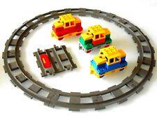 1x Lego Duplo Batteriebetriebene Lok,Rangier Lok mit Schienen # ÜBERHOLT #