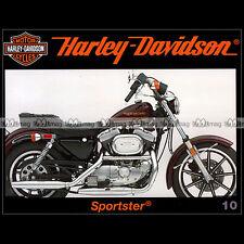 HARLEY-DAVIDSON 10 883 1100 SPORTSTER EVO WW2 2ème GUERRE MONDIALE MILITARY MOTO