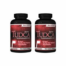 Premium TUDCA. Tauroursodeoxycholic Acid, 60 caps. BEST Liver Support! (2 Pack)!