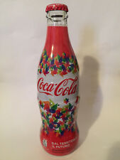 Coca Cola  Marcianise 2016  Italy wrapped bottle very very rare
